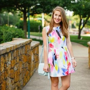 Kate Spade Watercolor Dress with Pockets
